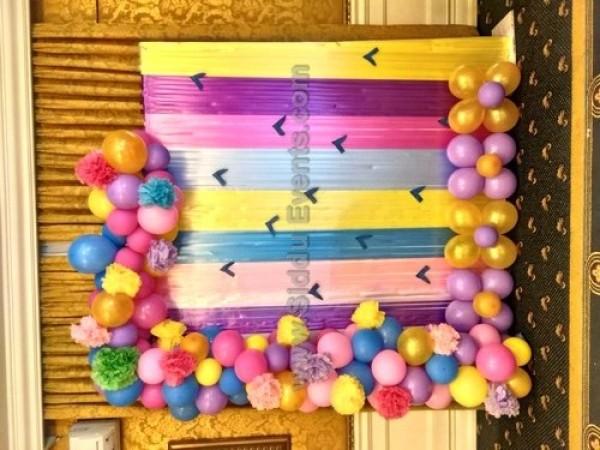 Unique Balloon Arch Decoration