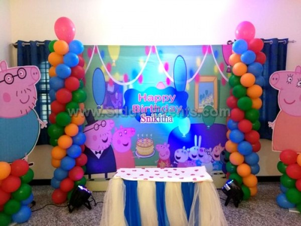 Peppe Pig Flex Theme Decoration