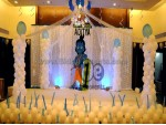 Unique Krishna Theme Decoration