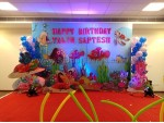 Underwater Theme And Balloon Decoration