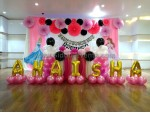 Princess And Foil Balloon Decoration