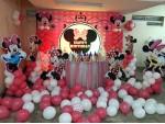 Minnie Mouse Face Theme Decoration