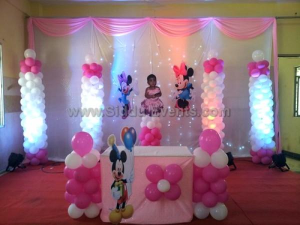 Balloon Pillar Decoration