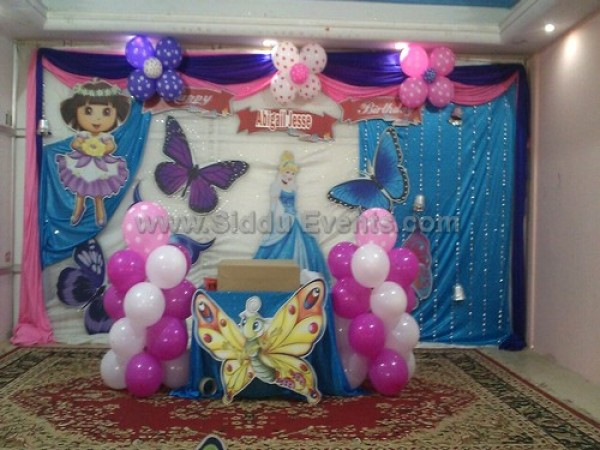 Butterfly Princess Decoration