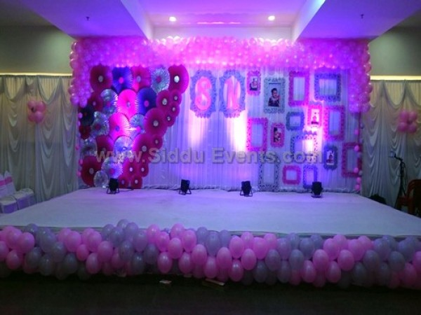 Crafed Backdrop Decoration