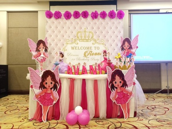 Elegant Fairy Theme Decoration