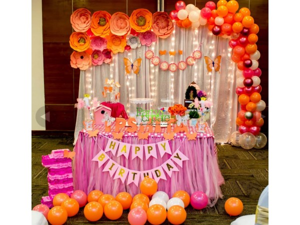 Paper Flower Backdrop Decorations