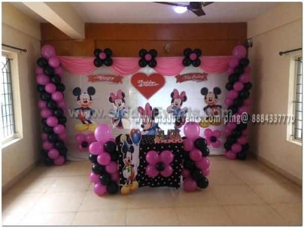 Simple Minnie Theme Decoration