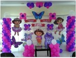 Simple Dora Theme Decoration
