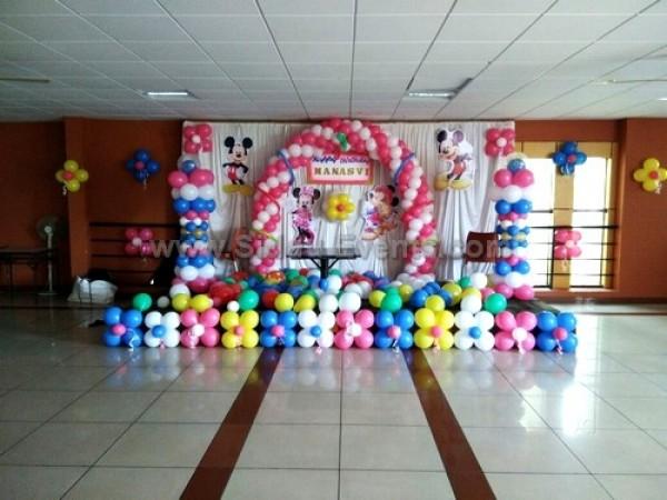 Colourful Mickey Theme Decoration