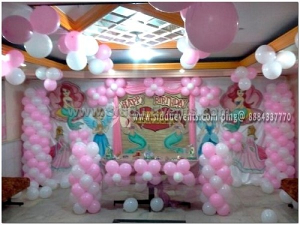 Baby Pink Balloon Decorations