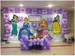 Purpe Balloon Princess Decorations