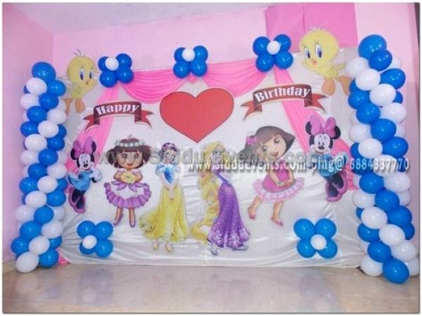 Mix Disney Theme Decoration