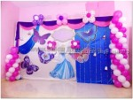 Princess And Butterfly Theme Decoration