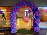 Unique Heart Shape Arch Balloon Decoration