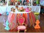 Grand Princess Theme And Balloon Decoration