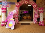 Grand Princess Theme And Balloon Decoration