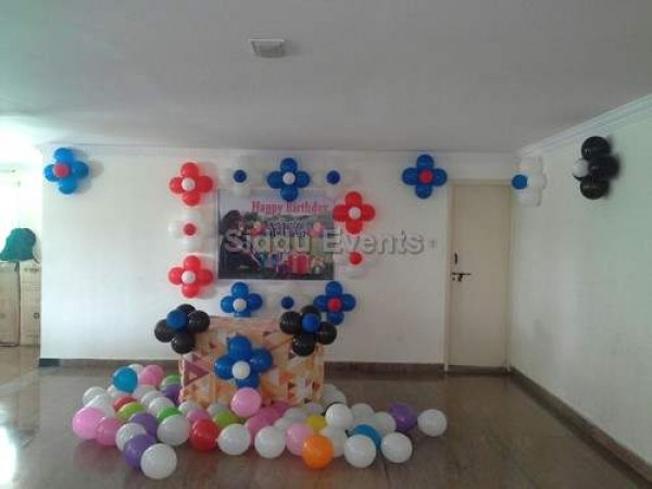 Multi Colour Balloon Bunches For Home