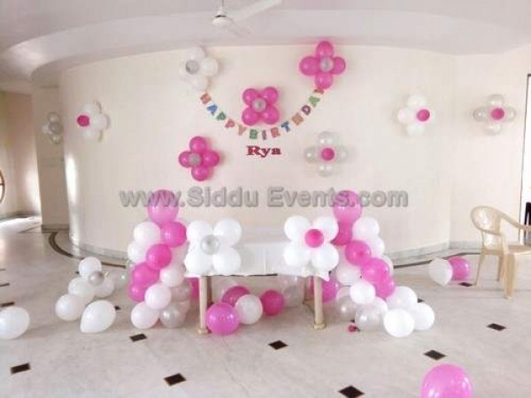 Simple Home Balloon Decoration