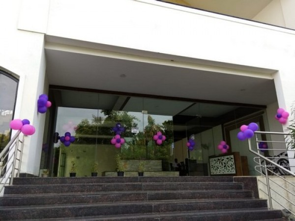 Simple Balloon Decoration