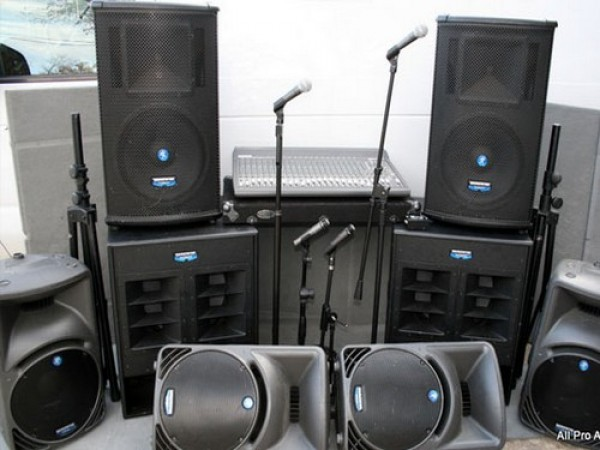 PA System For Corporate Show