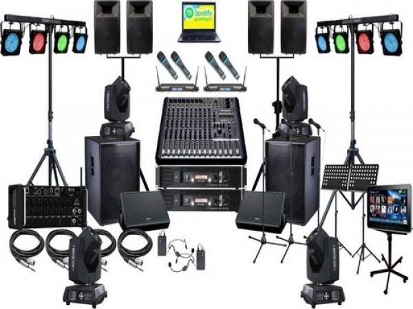 DJ Setup For Corporate Show