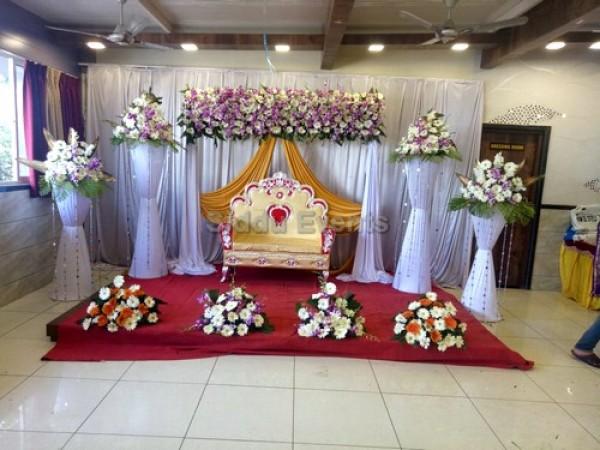 Arcade Flower Decoration For Engagement