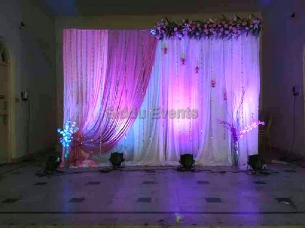 Elegant Pink Decoration For Engagement