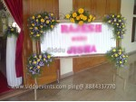 White Angle Decoration For Holy Communion