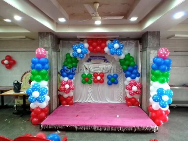 Naming Ceremony Balloon Decoration