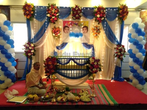 Simple Traditional Naming Ceremony Decor