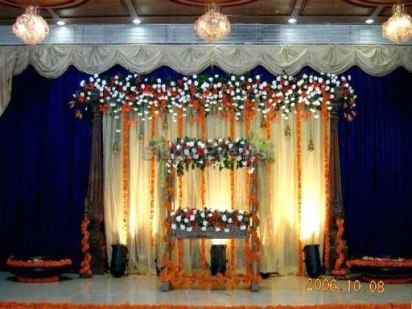 Elegant Traditional Decor For Naming Ceremony