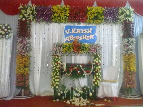 Traditional Decor For Naming Ceremony