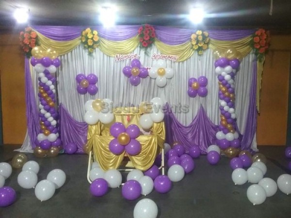 Naming Ceremony Balloon Decoration 1