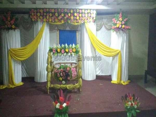 Naming Ceremony Flower Decoration