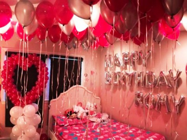 Lover Anniversary Surprise Party