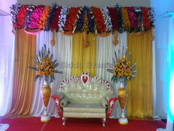 Simple Traditional Wedding Decoration 1