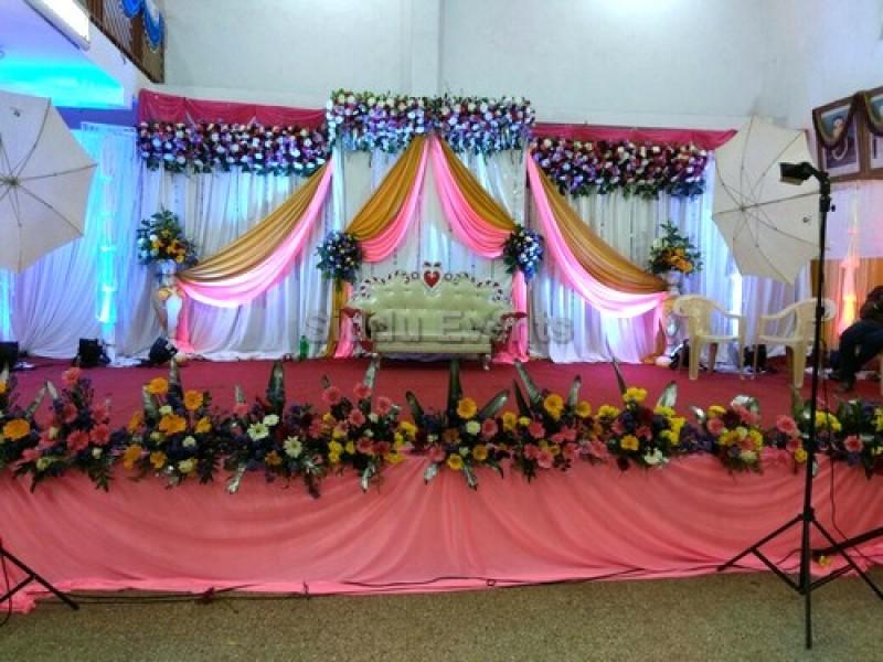 3 Part Backdrop Wedding Decoration