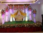 Elegant Wedding Backdrop Decoration