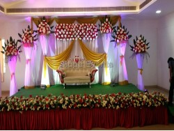 Elegant Wedding Backdrop Decoration