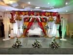 Hindu Traditional Wedding Backdrop