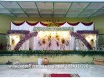 Grand Wedding Backdrop Decoration
