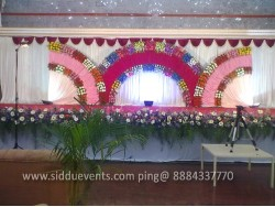 3 Moon Theme Wedding Decoration