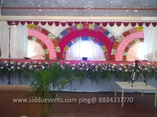 3 Moon Theme Wedding Decoration