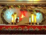 Unique Fashion Wedding Backdrop Decoration