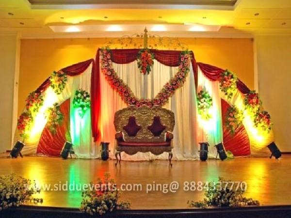 Semi Circle Unique Wedding Decoration