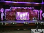 Elegant Candle Theme Wedding Decoration