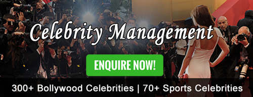 celebrity management company in Bangalore